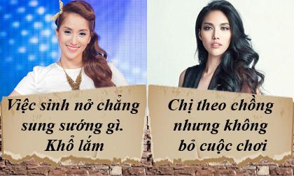 phát ngôn của sao Việt, Nam Em, Kiều Thanh, Hari Won ,Trung Dũng