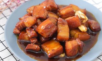 nấu ăn, thịt heo, bí ngô