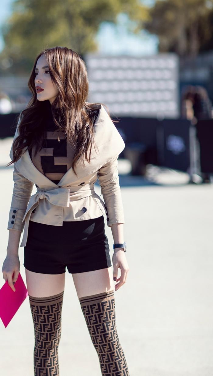 Kỳ Duyên, Hoa hậu Việt Nam 2014, Paris Fashion Week