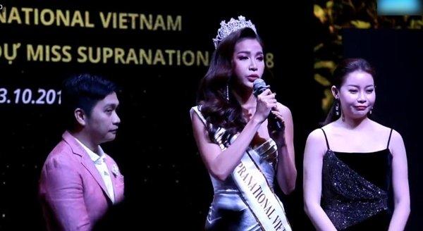 Minh Tú, Hoa hậu siêu quốc gia 2018