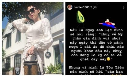 Hoàng Touliver, Tóc Tiên, sao Việt
