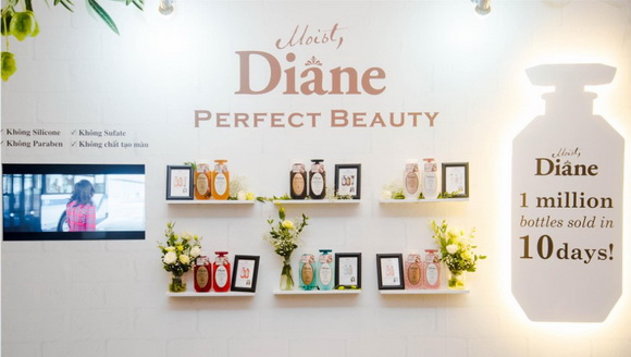 Moist Diane Perfect Beauty, Dầu gội tinh dầu free silicon
