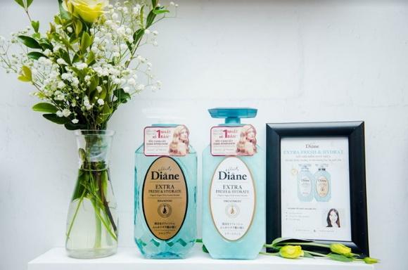 Moist Diane Perfect Beauty, Dầu gội tinh dầu free silicon