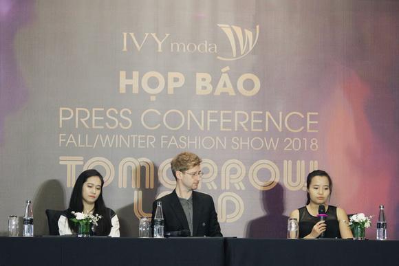 NTK Graeme Armour, IVY moda, BST Thu Đông – Tomorrowland