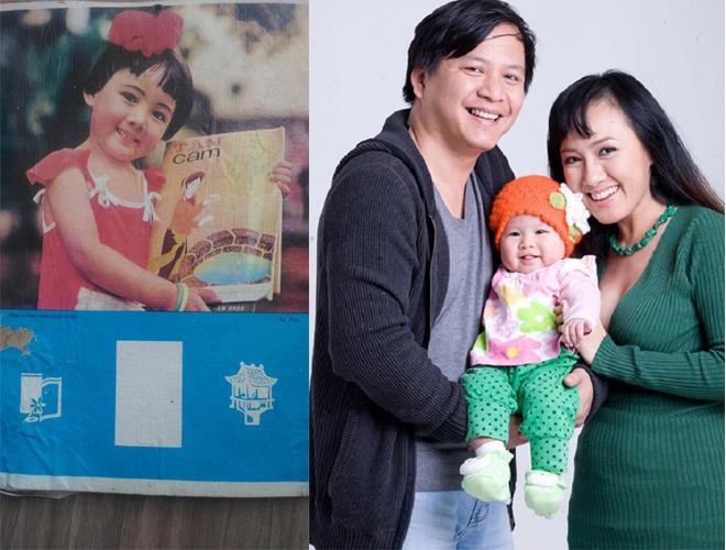 BTV Hoài Anh, Hoài Anh lúc nhỏ, sao Việt
