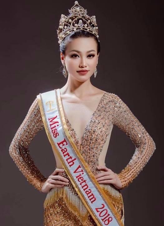 Phương Khánh, Hoa hậu Trái đất 2018, sao Việt