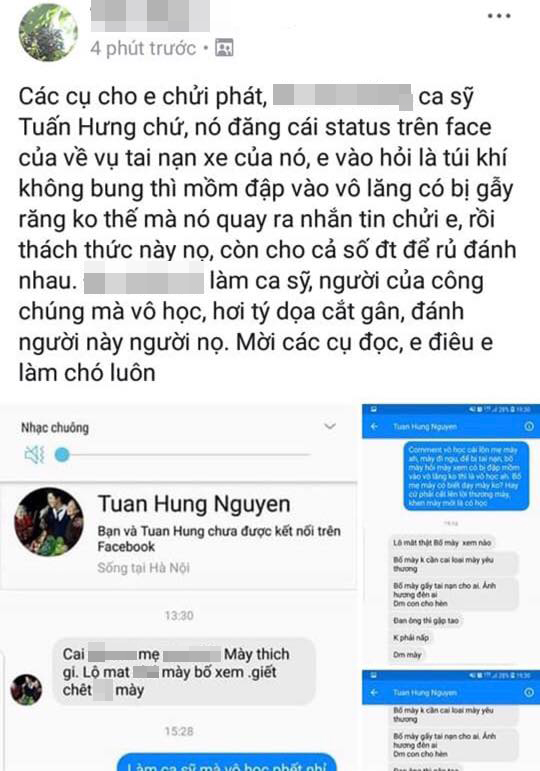 Tuấn Hưng, siêu xe, sao Việt, anti-fan