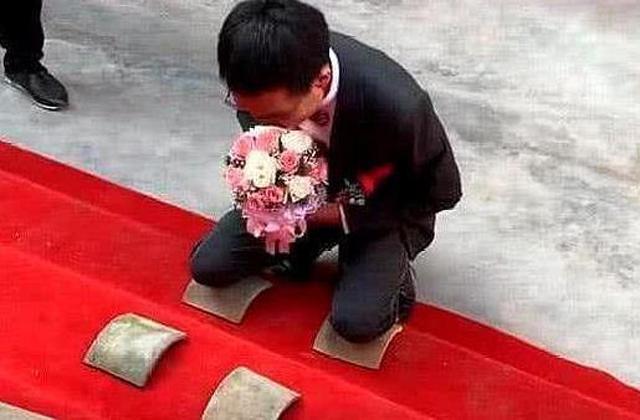 chú rể trung quốc, thách cưới, thử thách nhà gái, đám cưới trung quốc
