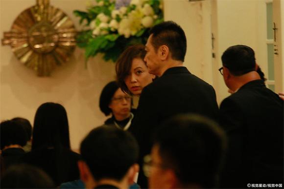 Lam Khiết Anh, tang lễ  Lam Khiết Anh, sao hoa ngữ