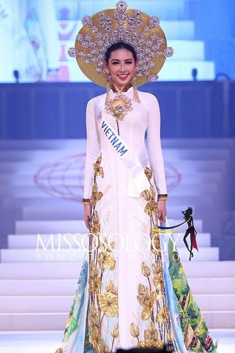 Thùy Tiên nói gì khi 'trắng tay' tại Hoa hậu Quốc tế 2018?