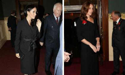 Hoàng gia Anh,Kate Middleton,Meghan Markle