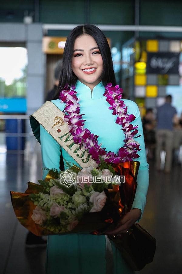 Hoa hậu Trái đất 2018, hoa hậu Phương Khánh, sao việt