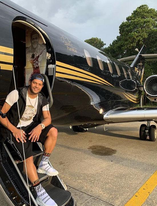 hulk, cầu thủ mua máy bay riêng, cầu thủ brazil mua máy bay riêng, cầu thủ brazil