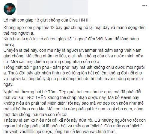 Hồng Nhung, chồng cũ Hồng Nhung, sao Việt,