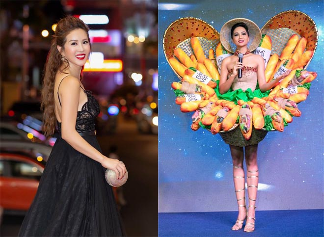 H'Hen Niê, Hoa hậu Thu Hoài, Hoa hậu Hoàn vũ Việt Nam, sao Việt, Miss Universe 2018