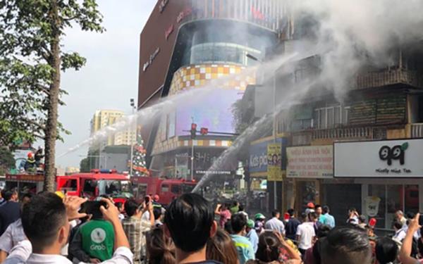 cháy, cháy chung cư, cháy nhà tại Tôn Thất Tùng