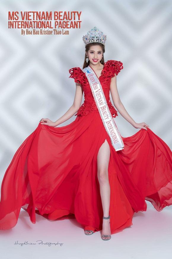 Ms Vietnam Beauty International Pageant, Hoa hậu Phụ nữ Quốc tế 2019, Kristine Thảo Lâm