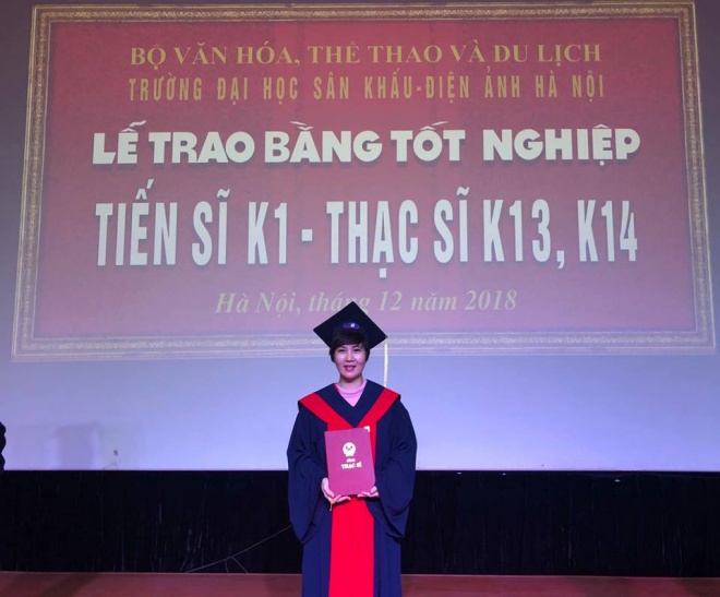 NSND Bạch Tuyết, Bùi Bích Phương, Hoàng Thùy Linh