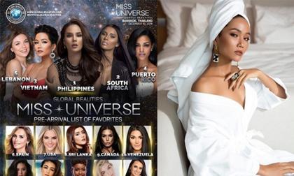 H'Hen Niê,Miss Universe 2018,Chung kết Miss Universe 2018, hoa hậu hoàn vũ 2018