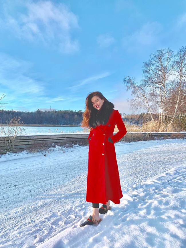 Chụp ảnh ở quê hương của người yêu được khen xinh, Hà Hồ dí dỏm trả lời đầy bất ngờ