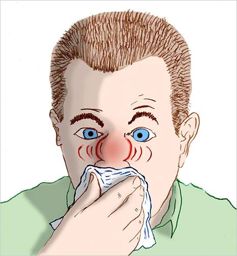 xì mũi, hỉ mũi, xì mũi quá mạnh, xì mũi sai cách, xì mũi đúng cách, Những mối nguy hiểm tiềm ẩn đằng sau việc bạn hỉ mũi quá mạnh
