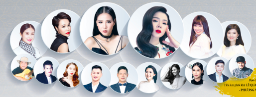 Phương Thanh,Uyên Linh,Thu Minh,Lam Trường,sao Việt