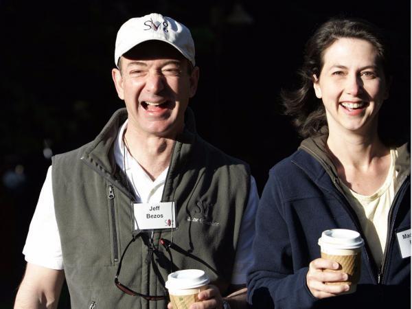 Tỷ phú Jeff Bezos, Tỷ phú giàu nhất thế giới ly hôn, CEO Amazon