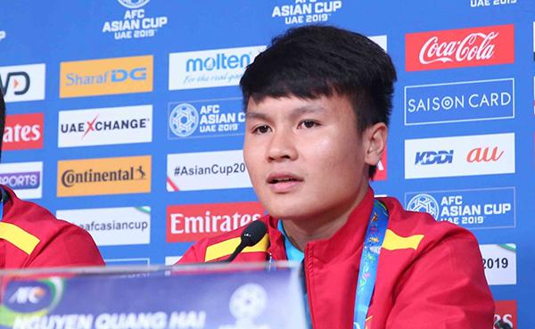 """Quang Hải: """"Asian Cup đẳng cấp hơn giải U23 châu Á"""""""