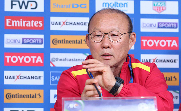 park hang seo, việt nam vs iraq, đt việt nam, asian cup 2019
