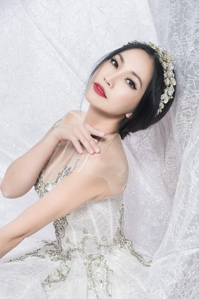 Kim Hiền, Kim Hiền mặc váy cưới, Kim Hiền lấy chồng