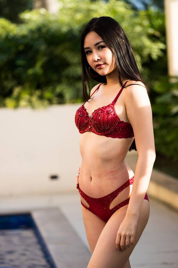 Lê Âu Ngân Anh, Hoa hậu liên lục địa, Lê Âu Ngân Anh bikini