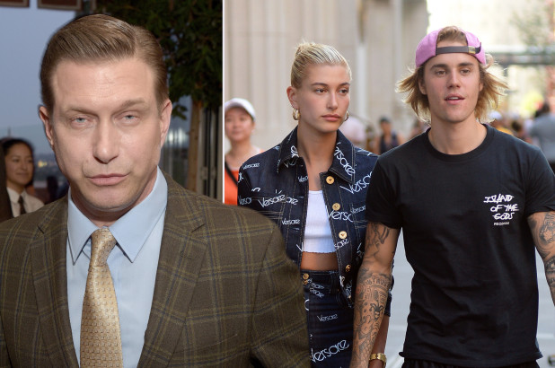 justin bieber, hailey baldwin, stephen baldwin, sao hollywood