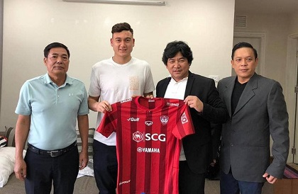 Đặng Văn Lâm, Muangthong United, Lâm Tây