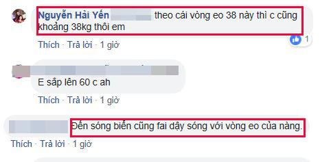 Hải Yến, ca sĩ Hải Yến, sao việt có vòng eo nhỏ