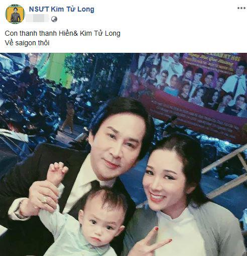 con trai Thanh Thanh Hiền, Thanh Thanh Hiền và Chế Phong, Thanh Thanh Hiền