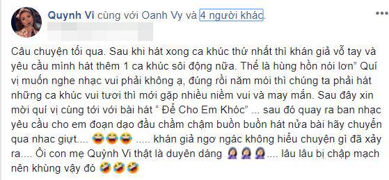 Vy Oanh và Minh Tuyết, scandal Vy Oanh và Minh Tuyết, Vy Oanh