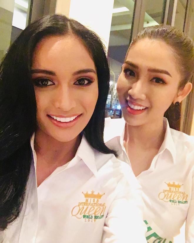 Nicole Flores, Hoa hậu Chuyển giới Quốc tế 2019, Pia Wurtzbach