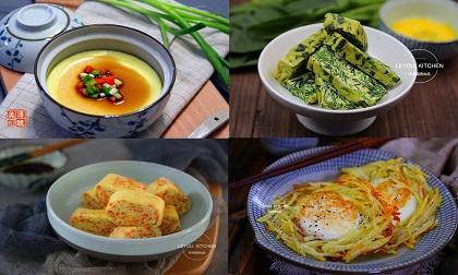 Ngồi vào mâm cơm trẻ nào cũng thích ăn trứng, mẹ cập nhật ngay 4 cách nấu này để tha hồ đổi bữa cho con