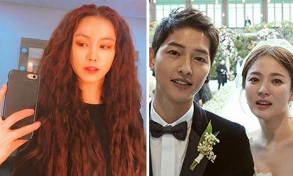 """Động thái lạ của mỹ nhân bị nghi là """"tiểu tam"""" giật Song Joong Ki từ tay Song Hye Kyo"""