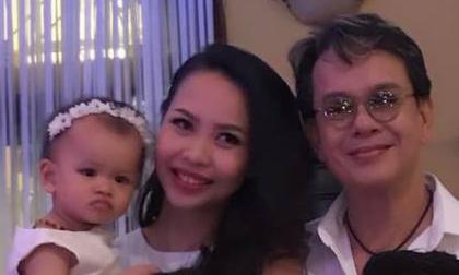Con gái của nhạc sĩ Đức Huy và vợ kém 44 tuổi lần đầu lộ mặt