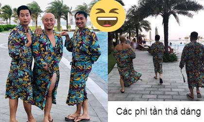 Thiên hạ vào mà xem này! Showbiz Việt còn có cả hội anh em 'lầy lội' như MC VTV