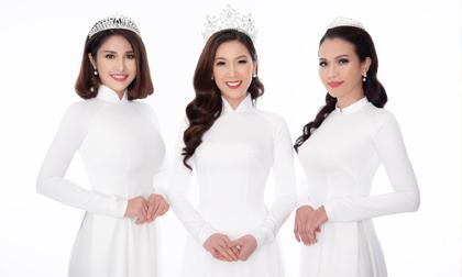 Hoa hậu Áo dài Phí Thuỳ Linh 'đọ nhan sắc' với vợ cũ Phan Thanh Bình