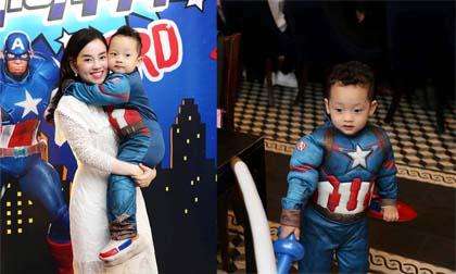 Ly Kute tổ chức sinh nhật cho con trai nhân dịp tròn 3 tuổi