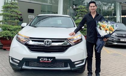 Diễn viên Minh Luân tậu xế hộp Honda CRV đời mới tiền tỷ