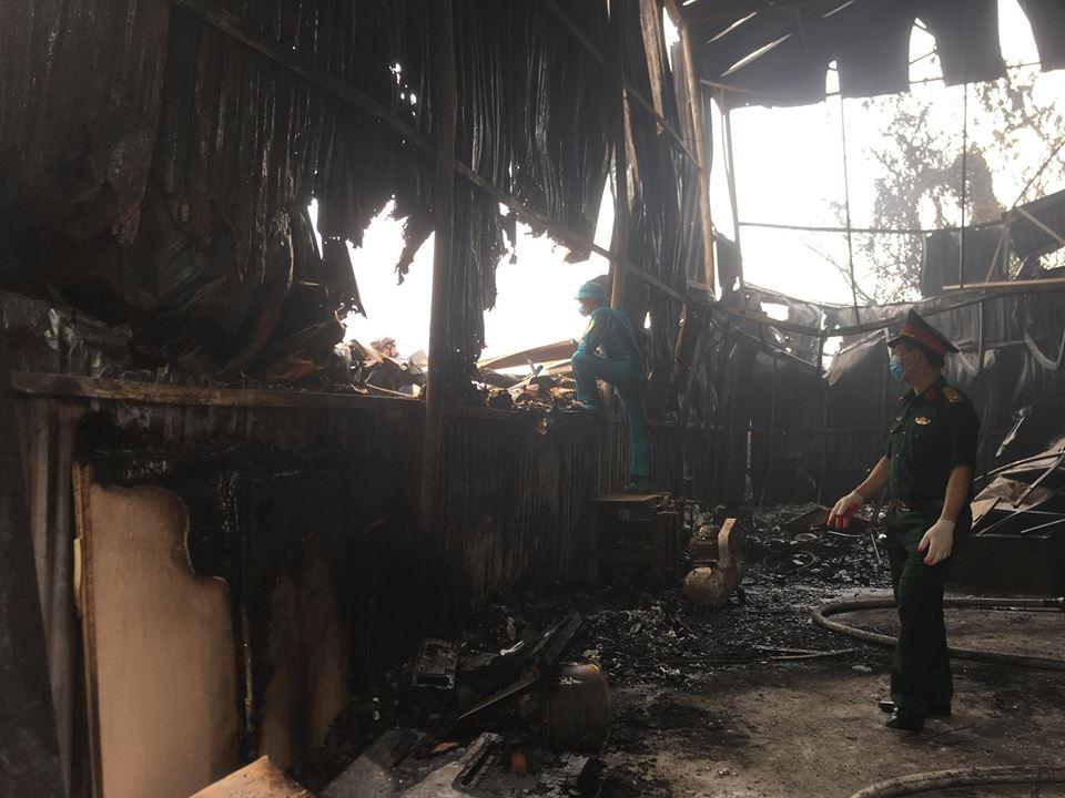 Khởi tố vụ cháy nhà xưởng khiến 8 người thiệt mạng ở Hà Nội - 1