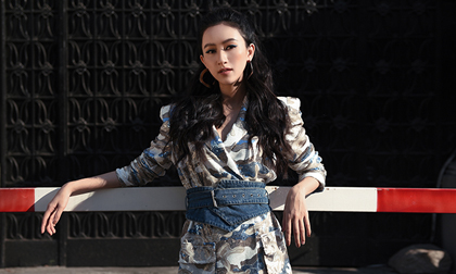 Á hậu Hà Thu chào hè bằng bộ ảnh thời trang như fashionista thực thụ