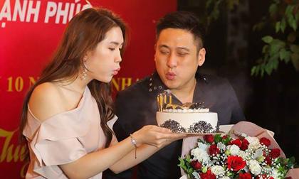 Diễn viên Minh Tiệp tổ chức tiệc sinh nhật hoành tráng cho bà xã, kết hợp kỷ niệm 10 năm yêu