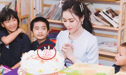Thư Dung đón sinh nhật sau ồn ào bán dâm, nhưng số tuổi ghi trên bánh mới là điều gây chú ý