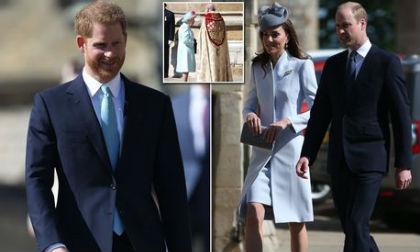 Vợ chồng Kate vui vẻ sánh đôi sau tin đồn William ngoại tình; Harry xuất hiện 1 mình dấy nghi vấn Meghan đã sinh con