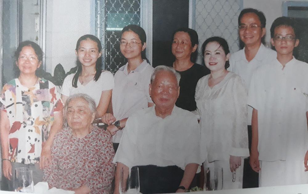 Hạnh phúc đời thường của Đại tướng Lê Đức Anh bên gia đình